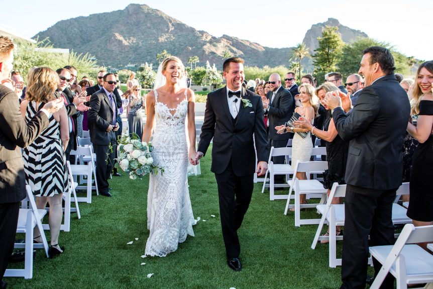 Modern Romantic Mountain Shadows Wedding | Scottsdale Wedding Planner