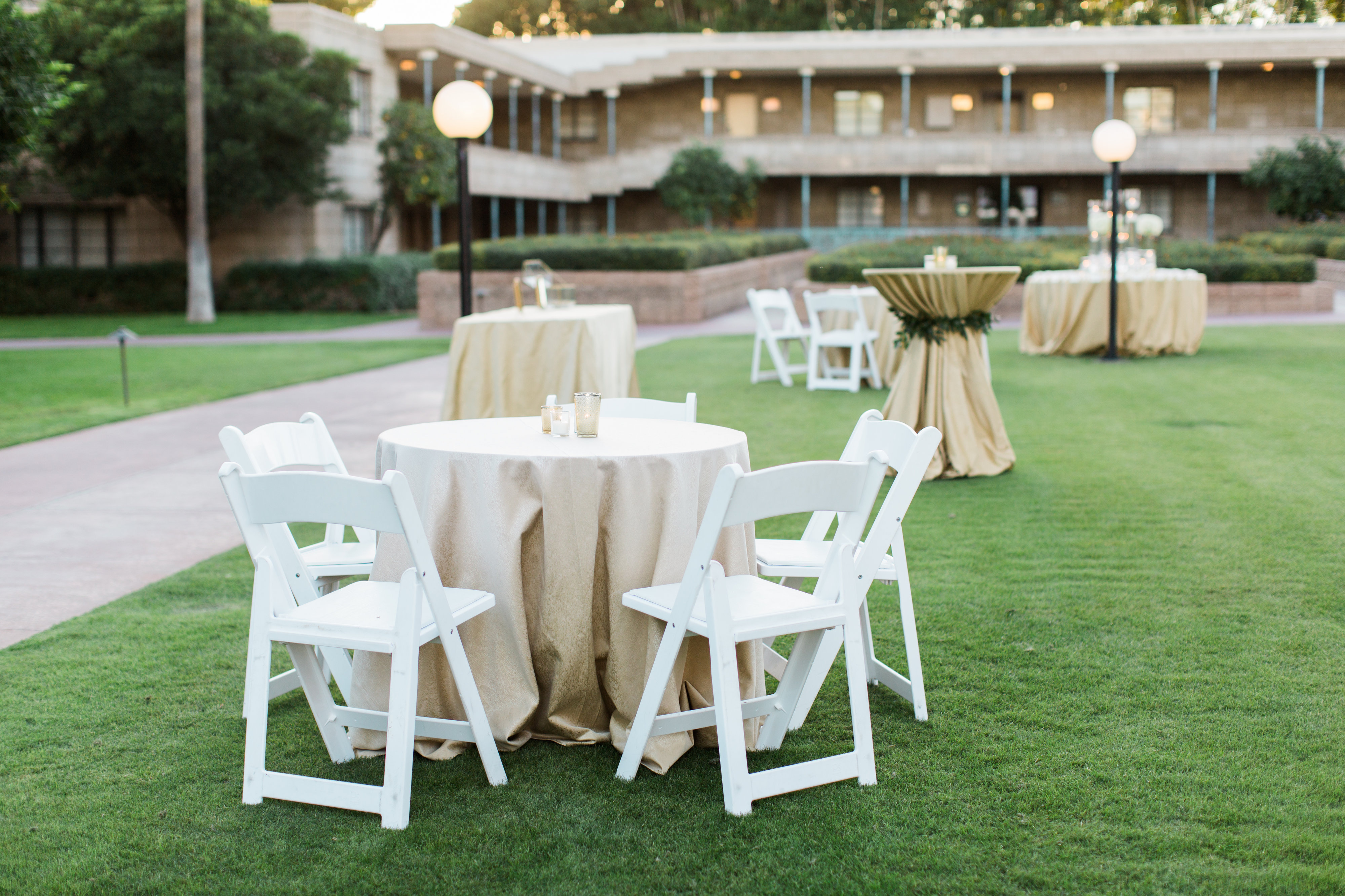 Arizona Biltmore Wedding Patio | Arizona Wedding Planner