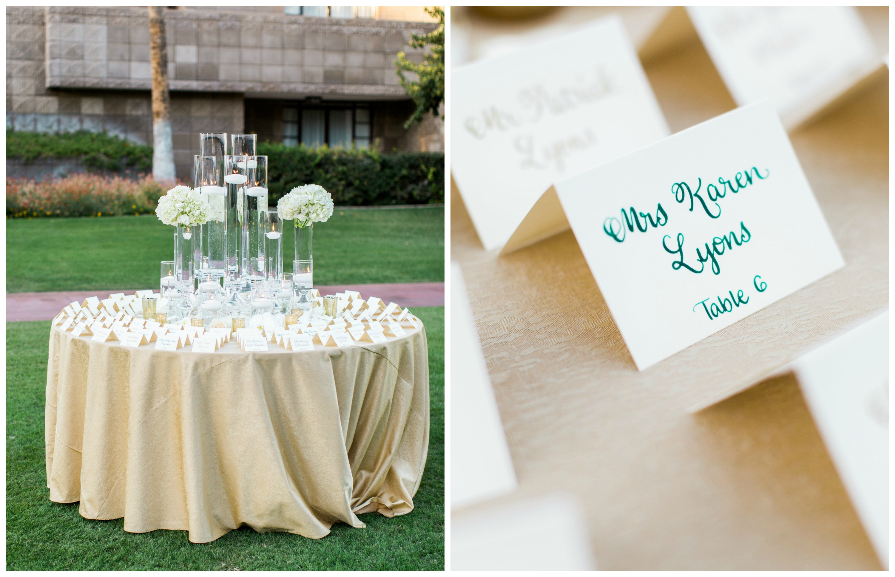 Arizona Outdoor Cocktail Hour | Scottsdale Wedding Planner