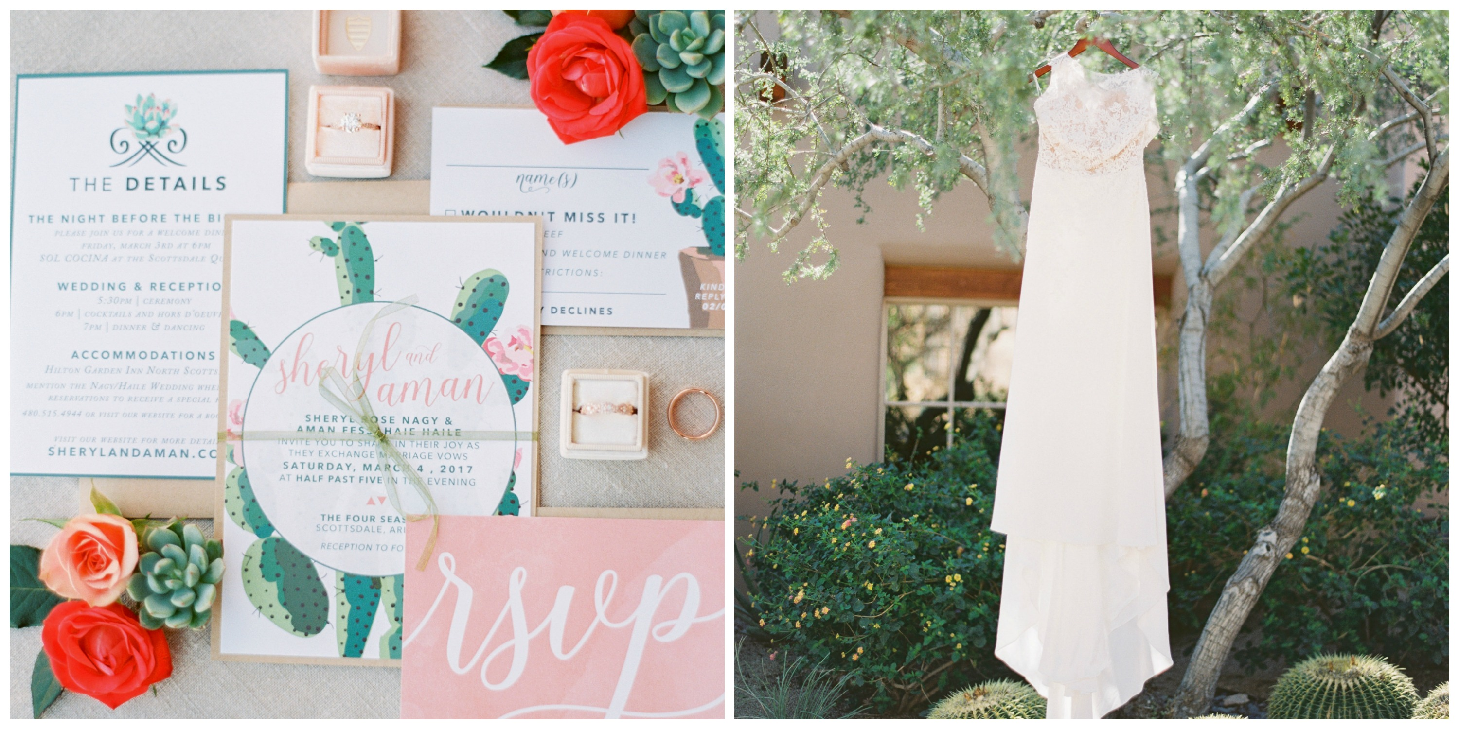 Arizona Wedding Spring Invitations | Arizona Wedding Planner